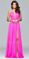 Faviana Evelyn Chiffon Prom Dress