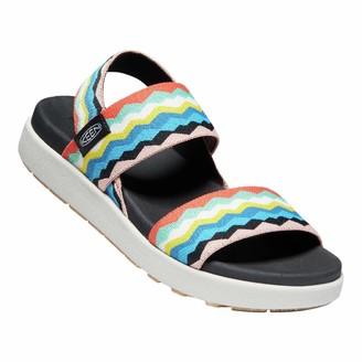 Keen Womens Elle Backstrap Casual Platform Open Toe Sandal