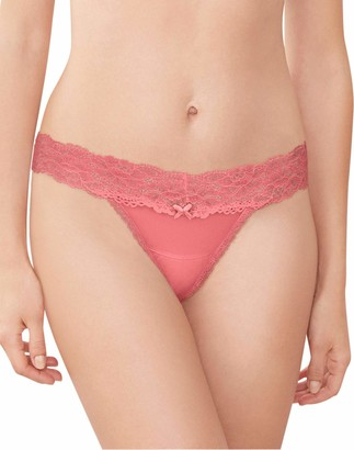 Maidenform Women's Comfort Devotion Lace Thong Panty