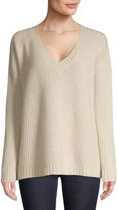 En Thread V-Neck Cashmere Sweater