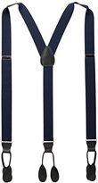 Stacy Adams Men's Big-Tall Extra Long Button On Suspenders