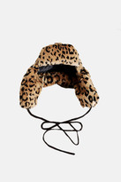 R 13 Leopard Trapper Hat