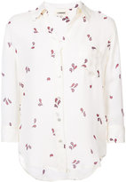 L'Agence printed shirt - women - Silk - XS