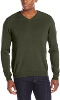 Oxford NY Men's V-Neck Cotton Sweater
