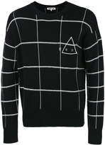 McQ checked jumper