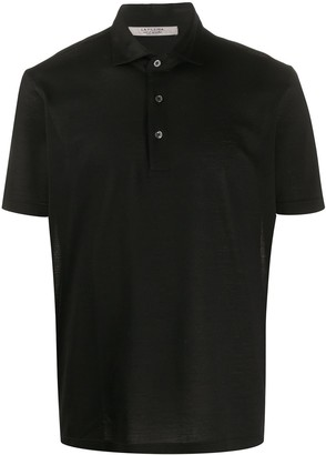 La Fileria For D'aniello Short-Sleeved Cotton Polo Shirt