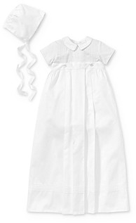 Kissy Kissy Boys' 3-Piece Christening Gown, Suit & Bonnet Set - Baby