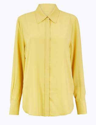 Marks and Spencer Collared Neck Blouse