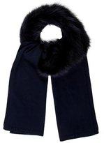 Tory Burch Fox Fur Scarf