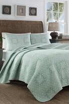 Tommy Bahama Tranquil Trail Twin Quilt Set - Multi