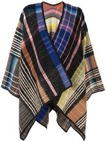 Missoni knitted cape - women - Silk/Nylon/Mohair/Alpaca - One Size