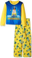 Despicable Me Boys' Big Boys' 2-Piece Fleece Pajama Set with
