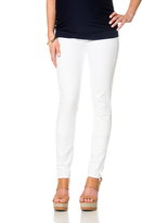 A Pea in the Pod 7 For Mankind Secret Fit Belly Skinny Leg Maternity Jeans