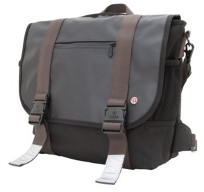 Token Lorimer Matte Vinyl Medium Messenger Bag
