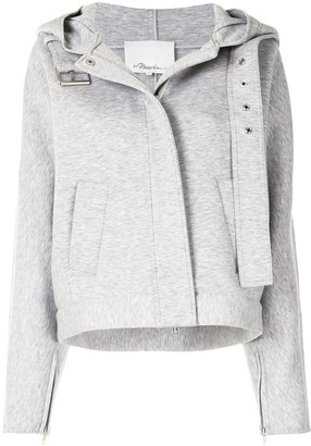 3.1 Phillip Lim Zipped Hooded Jacket