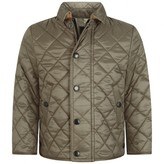 Burberry BurberryBaby Boys Taupe Quilted Mini Luke Jacket