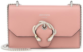 Jimmy Choo Paris embellished leather clutch