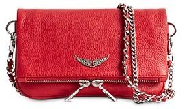 Zadig & Voltaire Rock Nano Leather Crossbody Bag