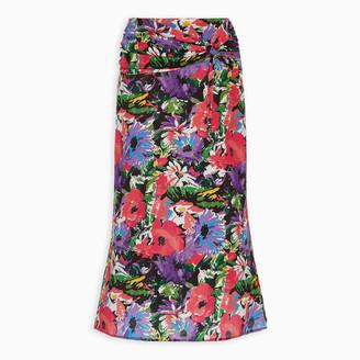 ART DEALER Floral print Olivia skirt