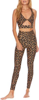 Beach Riot Piper Leopard-Print Leggings