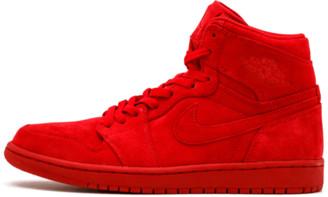 Jordan Air 1 Retro High 'Red Suede' Shoes - 9