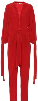 Stella McCartney Silk crepe jumpsuit