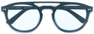 Calvin Klein CK19500S round-frame sunglasses