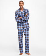 Brooks Brothers Plaid Flannel Pajamas