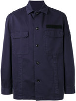 Golden Goose Deluxe Brand button up military jacket - men - Cotton - M