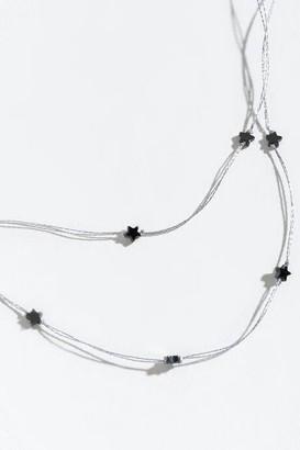 francesca's Dallas Layered Star Choker - Silver