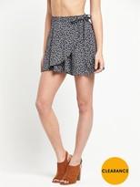 Denim & Supply Ralph Lauren Ralph Lauren Ballet Wrap Straight Skirt - Alonzo Floral
