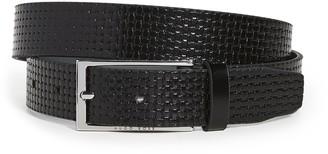 HUGO BOSS Carmello Woven Leather Belt