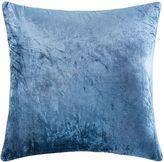 Kas Vello Velvet Cushion, Alessi Blue