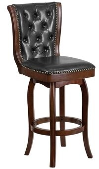 """Darby Home Co Saville Swivel Counter & Bar Stool Seat Height: Bar Stool (31"""" Seat Height)"""