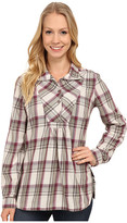 Royal Robbins Sugar Pine Plaid Long Sleeve Tunic