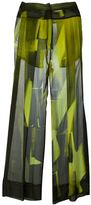 Ann Demeulemeester 'Edison Radiant' trousers - women - Silk - 38