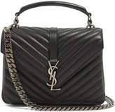 Saint Laurent Collège medium quilted-leather cross-body bag
