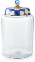 Mackenzie Childs Royal Check Large Storage Canister