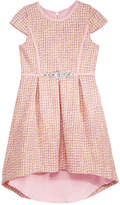Blush by Us Angels Boucle High-Low Hem Dress, Big Girls