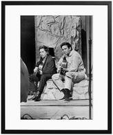 Bob Dylan and Johnny Cash (Framed)