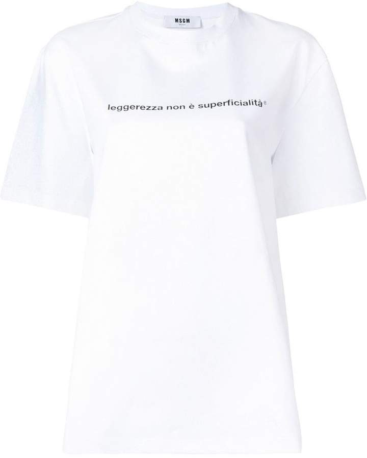 c93ba1f33 MSGM Women's Tees And Tshirts - ShopStyle