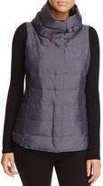 Eileen Fisher Funnel Neck Puffer Vest