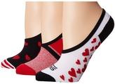 Vans Friend Zone Canoodles 3-Pack Women's Crew Cut Socks Shoes