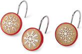 Avanti Tall Snowman Set of 12 Shower Hooks