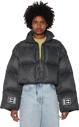Off-White Cropped Down Jacket