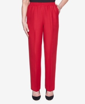 Alfred Dunner Women's Classic Textured Proportioned Short Pant