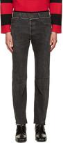 Vetements Black Reworked Jeans