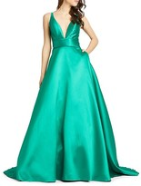 Thumbnail for your product : Mac Duggal Empire Waist Ball Gown
