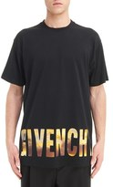 Givenchy Men's Horizon Logo Graphic T-Shirt