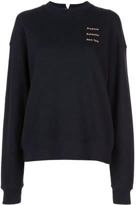 Proenza Schouler White Label Long Sleeve Sweatshirt